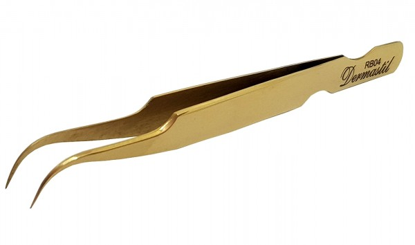 Professionelle Handmade Pinzette Gold RB Series, RB04