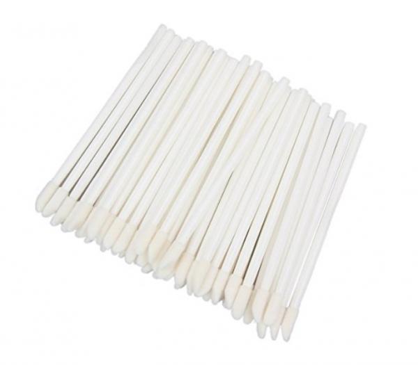 100 StückFusselfrei Microfaser Lippenpinsel- Reinigungsstäbchen für Wimpernverlängerung