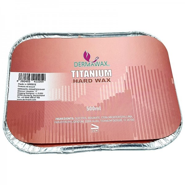 Pink TIO2 Titanium Dioxide Warmwachs 2x 500 ml