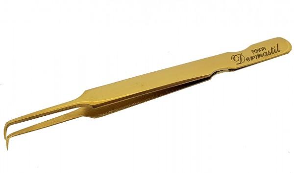Professionelle Handmade Pinzette Gold RB Series, RB08