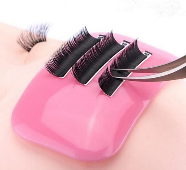 Silikonpad Wimpernunterlage Pink